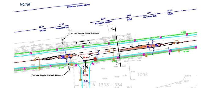 carrefour tourne gauche sur la rd 6113 cetur lr. Black Bedroom Furniture Sets. Home Design Ideas